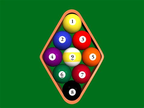 How To Rack 9 Pool how to rack a pool table 11 steps with pictures wikihow