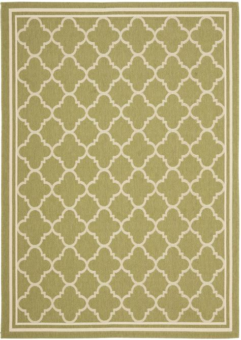 green and beige rug safavieh courtyard cy6918 244 green and beige area rug free shipping