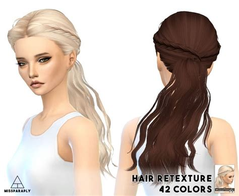 cc hair for sism4 13 best sims 4 hairstyles images on pinterest sims cc