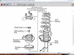 Hyundai Accent Coilovers 2001 Hyundai Accent Rear Struts Shocks Suspension Problem