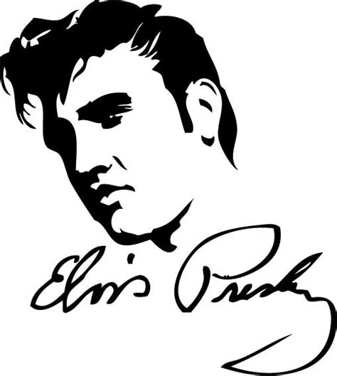 elvis free colouring pages