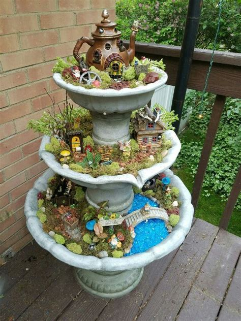 Creative Fairy Garden Tips Ideas The Scrap Shoppe Gnome Garden Ideas