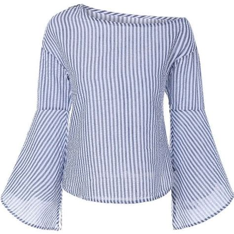 Sleeve Striped Blouse best 25 striped blouses ideas on style