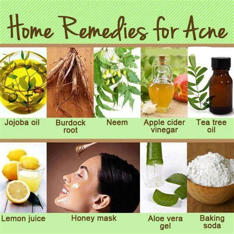 home treatment for acne and tips for acne treatment