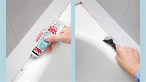 refaire les joints d une baignoire changer les joints d une baignoire avec les bons outils