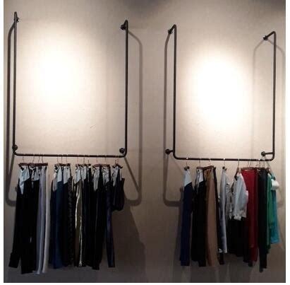 Rak Besi Pakaian dinding pakaian display promotion shop for promotional