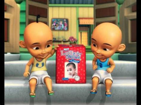 lollas baby diapers upin ipin tv commercial  secs