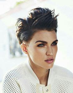 ruby rose before after haircuts ruby rose haircut recherche google pixie cut
