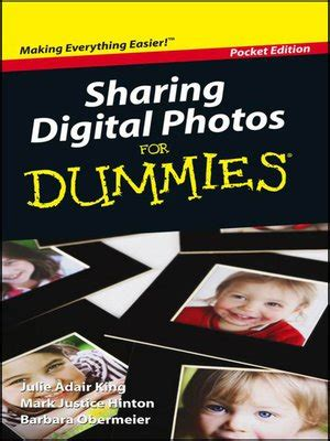 portable edition series 183 overdrive ebooks audiobooks sharing digital photos for dummies by julie adair king
