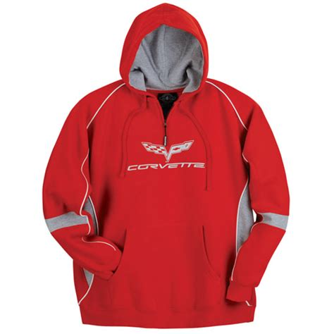 corvette sweatshirt official chevrolet licensed merchandise apparel