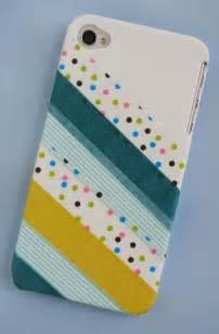 zakka craft washi phone cover