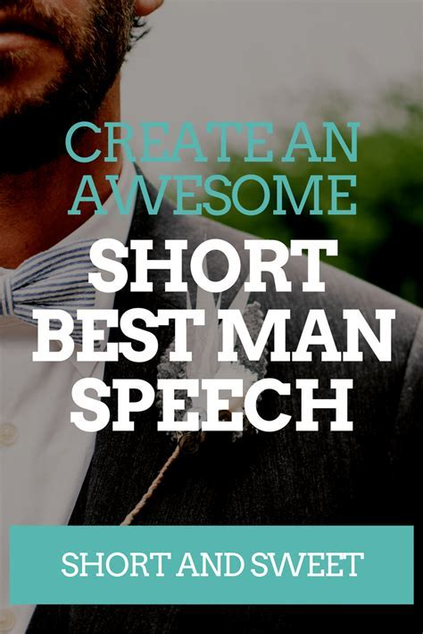 Short & Sweet Best Man Speech Examples   Wedding Speeches