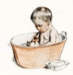 free digital images vintage baby illustrations