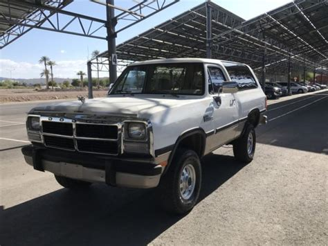 auto air conditioning service 1993 dodge ramcharger interior lighting no reserve 1993 dodge ramcharger canyon sport sport