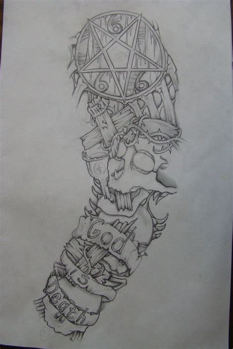 tattoo sleeve designs sketches ideas drawings half sleeve search