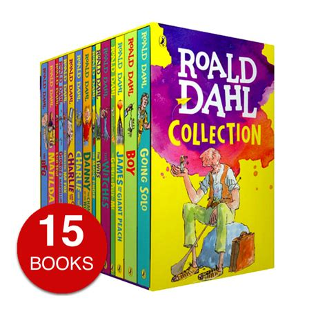 roald dahl pictures of his books roald dahl collection 15 books