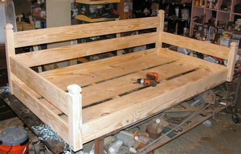 custom ordered swing bed  builtlast  lumberjockscom