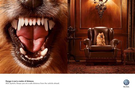 puppy ads volkswagen acc system ad gute werbung