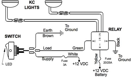 driving light relay diagram driving light relay wiring diagram wiring diagram and