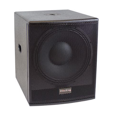 Speaker Excellent 15 Inch blastking 15 inch powered subwoofer bps15
