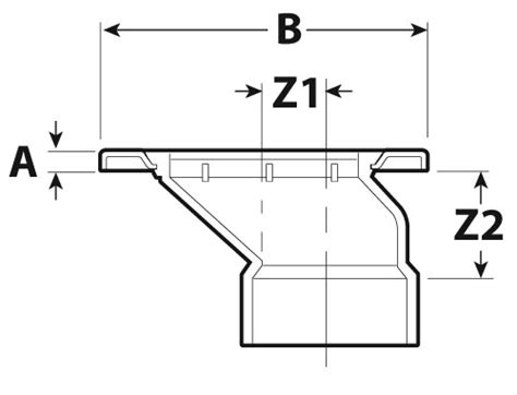 Closet Flange Dimensions by Product Specification