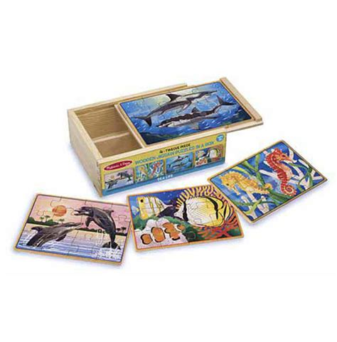 Puzzle Sea sea jigsaw puzzles in a box