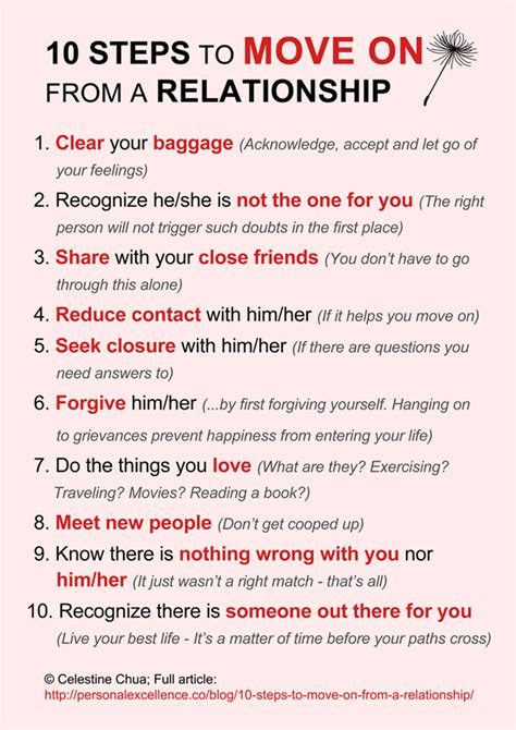 10 Tips On How To Get A Boyfriend For by 10 Steps To Move On From A Relationship Creative Ideas