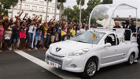 pope mobile pope s holy ride the changing popemobile nbc news