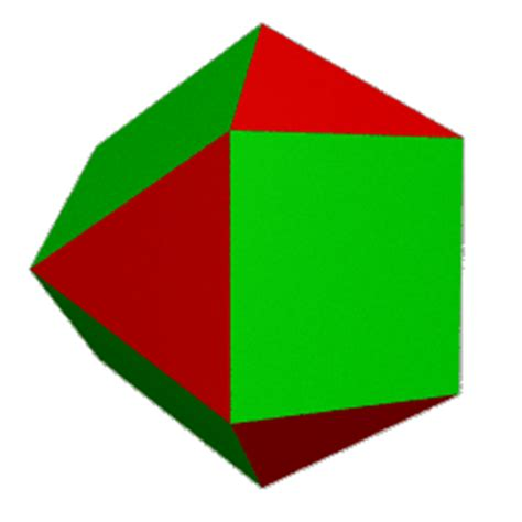 Cuboctahedron Origami - a cuboctahedron