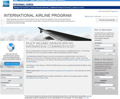 American Airlines Mba Program by International Business American Express International