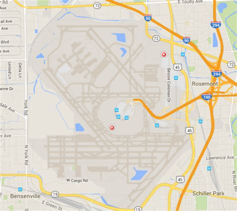 chicago ohare map airportwatch number of noise complaints around chicago o