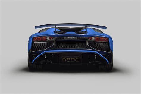 lamborghini back lamborghini aventador superveloce roadster unveiled