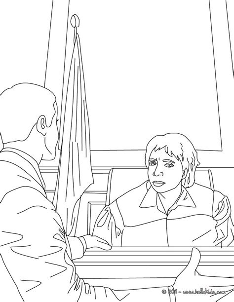 coloring book for lawyers attorney and judge coloring pages hellokids