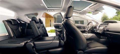 Toyota Prius Plus Interior by Toyota Prius 2015 Cambios En El Monovolumen H 237 Brido