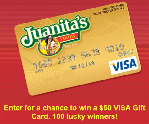 Win Free Visa Gift Card - win 1 of 100 free 50 visa gift cards