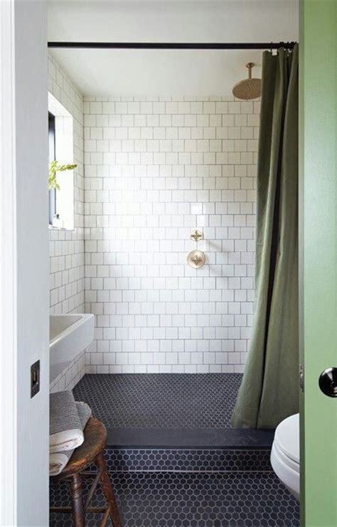 navy bathroom tiles 39 stylish hexagon tiles ideas for bathrooms digsdigs