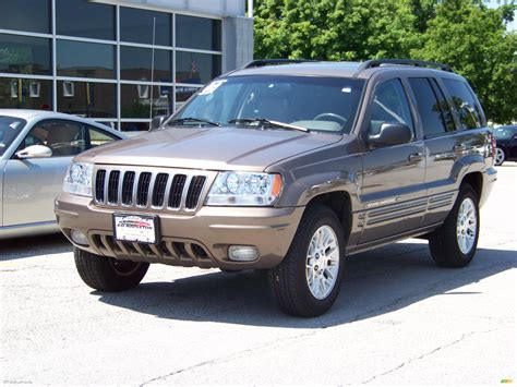 brown jeep 2002 woodland brown satin glow jeep grand cherokee limited