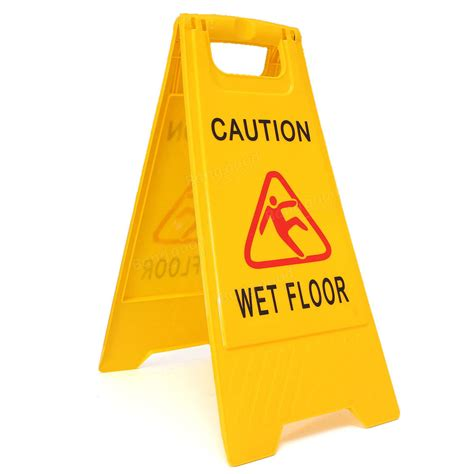Professional Wet Floor Warning Caution Hazard Cleaning