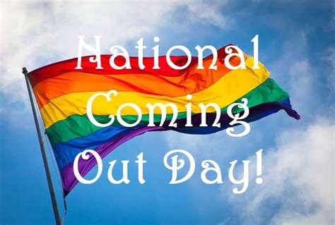 National Coming Out Day Oc Human Relations