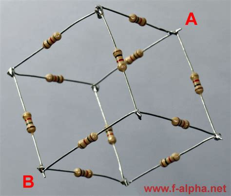 resistor cube problems resistor cube problem electronic puzzle cube f alpha net experiment 14 resistor cube