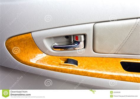 Car Door Interior Interior Panel Of Car Door Royalty Free Stock Image Image 22293636