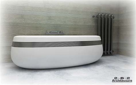 hi tech bathtubs creative bath themes digsdigs