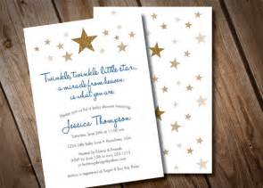 twinkle twinkle baby shower invitations theruntime