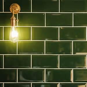 Cream Kitchen White Tiles - crown tiles metro dark green wall tiles crown tiles