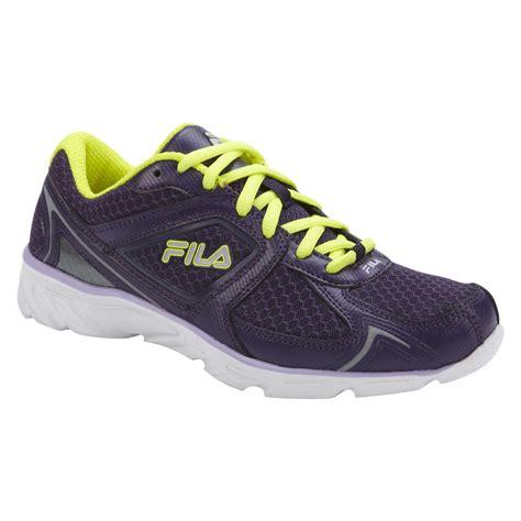fila green sneakers fila s memory endeavor purple neon green athletic shoes