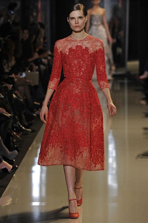 taylor swift delicate number one 11 red carpet worthy elie saab spring couture 2013 looks