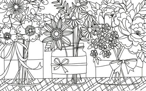 come colorare i fiori le pi 249 cartoline floreali da colorare