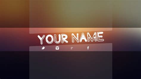 Youtube Banner Template Psd Template Business Banner Template Psd 2018