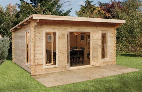 mendip log cabin forest garden