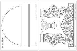 helmet of salvation craft template imperial helmet printable templates coloring